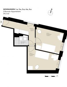 2-Pers. Appartements: 1.a, 2.a, 3.a, 4.a, 5.a